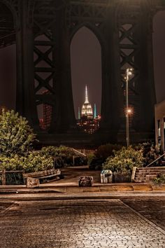 Empire State Building from Brooklyn by Gina Brake @nyc_photo#newyork #newyorkcity #nyc #manhattan #brooklyn #photography