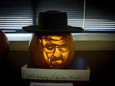 CoServ 2013 Pumpkin Carving Contest Entry (Punkinburg/Walter Fright)
