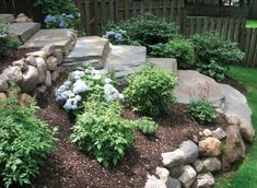 Side House Landscaping Ideas With Rocks 14 – DECOREDO