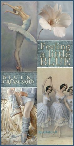 '' Blue & Cream/ Sand '' by Reyhan S.D.