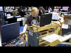 AVL Looms - Weaving