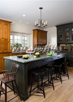 Primitive Kitchen LOVE LOVE LOVEEE this island