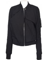 Rick Owens | Flight Ripped Bomber Jacket | Lyst