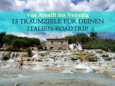 In diesem Post zeige ich dir 15 Traumziele für deinen Italien-Roadtrip. Von Amalfi bis Venedig. Von Rom bis Pompeji. Von den Cinque Terre bis zum Gardasee.