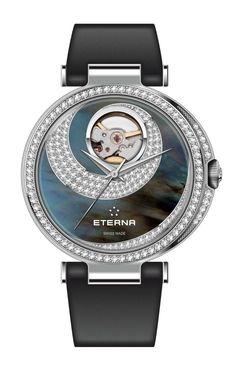 The Eterna Grace Open Art is a Gorgeous Ladies` Timepiece
