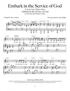 Embark in the Service of God – Sheet Music Download
