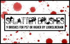 Ink Splatter Paint 18 - Download  Photoshop brush https://www.123freebrushes.com/ink-splatter-paint-18/ , Published in #GrungeSplatter. More Free Grunge & Splatter Brushes, http://www.123freebrushes.com/free-brushes/grunge-splatter/ | #123freebrushes