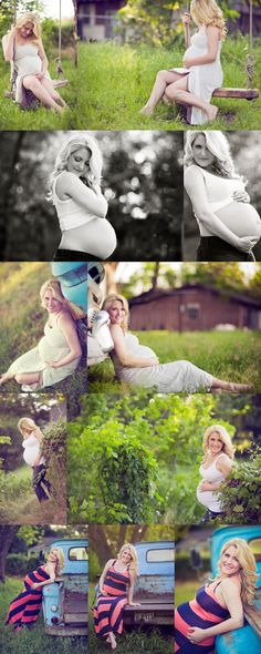 Love the swing!  DREAM Maternity photoshoot