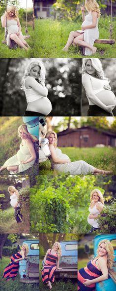 Love the swing!  DREAM Maternity photoshoot