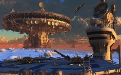 windows wallpaper spaceport - spaceport category