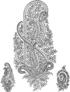paisley et motifs d inde - L'Atelier de Jojo Motifs Textiles, Textile Prints, Textile Art, Motif Art Deco, Art Deco Pattern, Textile Pattern Design, Textile Patterns, Hand Embroidery Patterns, Embroidery Art