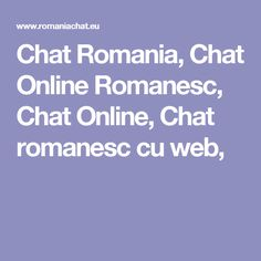 site chat online romania