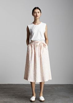 Slide Skirt by Kowtow. Ethical organic cotton.
