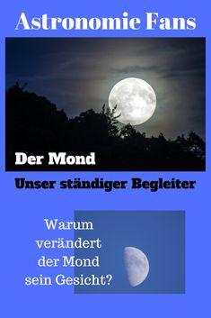 Wie ist der Mond entstanden? Warum verändert der Mond sein Gesicht? Diese und weitere Fragen beantworten wir in unserem heutigen Blogbeitrag