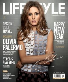 Cover Feature Lifestyle Magazine Brazil - OLIVIA PALERMO