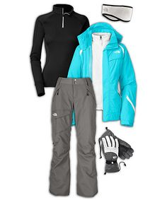 The North Face Women's All-Mountain Ski Outfit