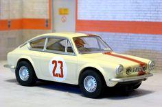 Scalextric Tecnitoys-Altaya. Seat 850 Coupé. Rally Gran Premio Oviedo, 1967. Antonio Pérez Sutil-Dionisio Morán #slotcar