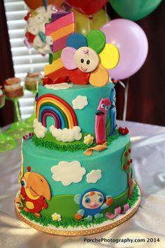 BabyFirst TV birthday cake - 1st Birthday