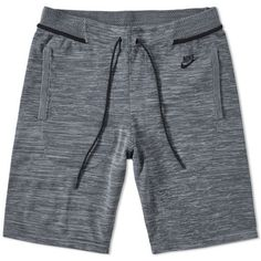 Buy the Nike Tech Knit Short in Cool Grey, Dark Grey & Black from leading mens fashion retailer END. Men's Activewear, Nike Outfits, Summer Outfits, Nike Tech, Nike Ad, Knit Shorts, Active Wear For Women, Monokini, Menswear