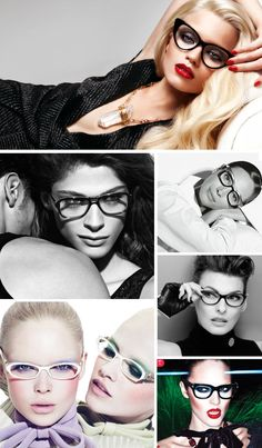 Reading Glasses Brands (top to bottom): Tom Ford; Chanel; Chanel; Chanel; Miu Miu; Tom Ford