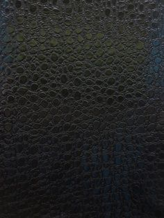 Bubble faux leather fabric - black by bigz11, via Flickr