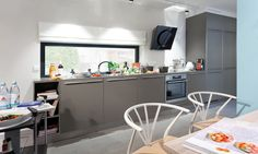 FlyingSpaces in Mannheim Bungalow, Tiny House, Modern, Table, Spaces, Furniture, Home Decor, Tiny House Cabin, Mannheim