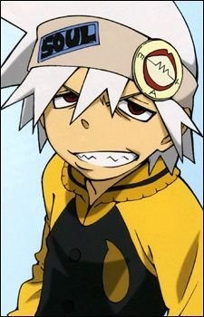 """Soul Eater,""""Soul""""to his friends, is Maka's Demon scythe partner and he's awesome!"""