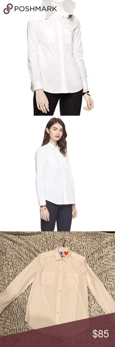 f450eb8039 Kate Spade White Poplin Button Down Excellent preowned condition from Kate  Spade. Freshly dry cleaned