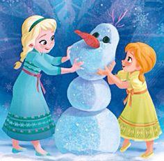 Elsa and Anna | Frozen