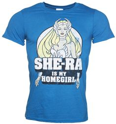 TruffleShuffle Mens She-Ra Is My Homegirl T-Shirt Ok so now were not 8 years old anymore, its totally ok to admit that we loved She-Ra just as much as He-Man growing up. She was pretty and kicked a lot of ass. Whats not to like right? Show your appre http://www.MightGet.com/february-2017-3/truffleshuffle-mens-she-ra-is-my-homegirl-t-shirt.asp