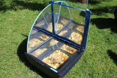 Solar cooking. Not sure it will replace my everyday home cooking but still...  A very cool idea.