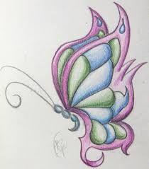 Resultado de imagen para mariposas pintadas en puntillismo