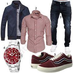 Herrenoutfit mit kariertem Hemd, Jeans und Übergangsjacke #hemd #jeans #vans #invicta #outfit #style #herrenmode #männermode #fashion #menswear #herren #männer #mode #menstyle #mensfashion #menswear #inspiration #cloth #ootd #herrenoutfit #männeroutfit