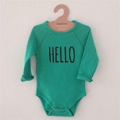 Organic Zoo - Hello Bodysuit