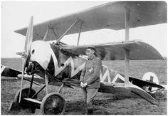 Hans Körner with Fokker Dr.I