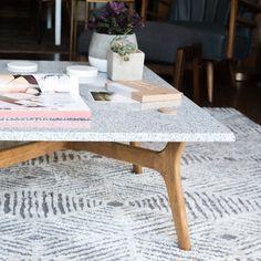 DIY Stone Top Coffee Table   Design*Sponge