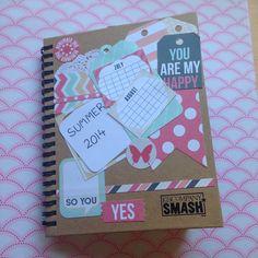 smash book verano scrapbooking Smash Book, Scrapbooking, Books, Summer Time, Libros, Book, Scrapbooks, Book Illustrations, Notebooks
