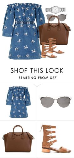 """Untitled #2668"" by erinforde ❤ liked on Polyvore featuring House of Holland, Givenchy, Latigo and Burberry"