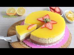 Enfes Sosuyla Limonlu CHEESECAKE Tarifi- Cheesecake Nasıl Yapılır, ( Çizkek) - YouTube