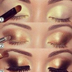 Paso a paso para aplicar maquillaje de ojo | Fotos de moda