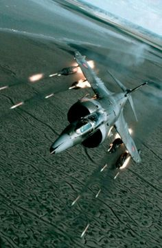 Hawker Siddeley Harrier GR3 firing SNEB rockets