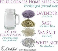 4 corners home blessing