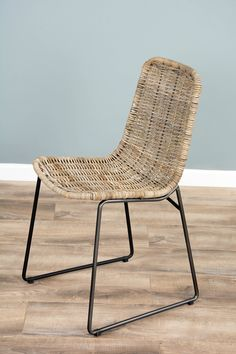 It's a glorious occasion as we would like to welcome the marriage of iron and Natural Kubu Wicker! Our new Urban Fusion range will inspire you to kit out your home with its chic and stylish modern living vibe, the kubu wicker dining chair is perfect if y Wicker Dining Chairs, Rattan Furniture, Living Furniture, Dining Chair Set, Room Chairs, Outdoor Chairs, Dining Sets, Dining Table, Sustainable Furniture