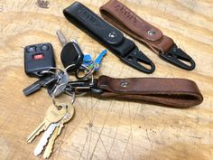 Anvil Leather Key Chain Fob - Anvil Customs  - 4                                                                                                                                                                                 Mais