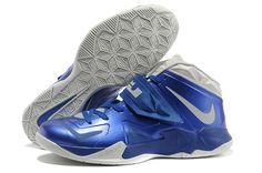 70c885d1cb82 Cheap Nike Zoom Soldier VII Blue White Lebron 7