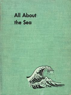 This book actually sold last night, but I thought I'd share the illustrations anyway because I like the ocean - All About the Sea by Ferdinand C. Lane, illustrated by Fritz Kredel (1953).
