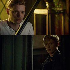 Jace and Sebastian. Shadowhunters episode 2x14
