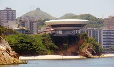 Três anos sem Oscar Niemeyer,useu de Arte Contemporânea de Niterói – Niterói – RJ. Image © Rodrigo Soldon