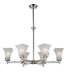 Z-Lite 319-6 Six Light Chandelier Light