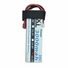 2pcs/ lot XXL 3000mAh 22.2V 6S 35C MAX 70C Rechargeable LiPo Battery for RC Helicopters Boats Cars